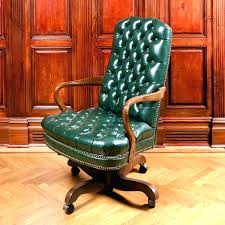 antique office chair parts. Antique Swivel Desk Chair Old Fashioned Office Leather Vintage . Parts S