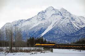 take a train to see the northern lights
