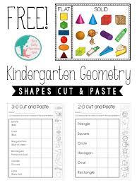 Kindergarten Geometry: 2D and 3D Shapes - Liz's Early Learning Spot