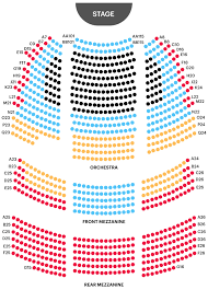 Brooks Atkinson Theatre Seating Chart Your A To Z Guide To Broadway Theater Seating Charts