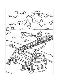 Disegno Da Colorare Camion Dei Pompieri Cat 12683 Images