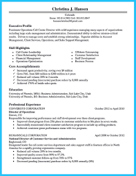 Resume Example For Call Center awesome Cool Information and Facts for Your Best Call Center Resume 23