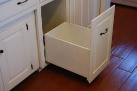 Kitchen Cabinet Slide Out Kitchen Cabinet Garbage Drawer Monsterlune