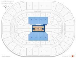 Chesapeake Energy Arena Upper Level Balcony Basketball