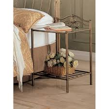 coaster company sydney metal nightstand antique brushed gold com