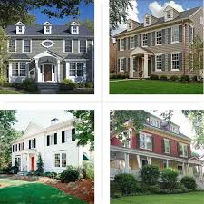 exterior paint colors for colonial style house. paint color ideas for colonial revival houses exterior colors style house i