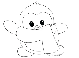 cute penguin coloring pages. Perfect Cute Penguin Color Pages Printable Cute Coloring  Little Winter And Cute Penguin Coloring Pages B
