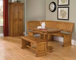 Kitchen Nook Furniture Set Breakfast Nook 3 Piece Corner Dining Set Black Nrd Homes