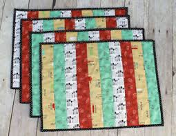 Featured Creativity | Sew Mama Sew | Outstanding sewing, quilting ... & ... Arrow challenger featuring the Whip It Up collection is Linda Rose of  Sew Happily Ever After. She has a tutorial for her new quilt-as-you-go  placemats. Adamdwight.com