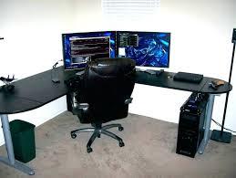 corner office desk ikea. Beautiful Desk Corner Desk Ikea L Shaped Office Computer Appealing  Example  In L