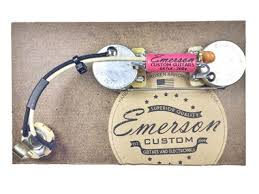 emerson telecaster prewired assembly rothko and frost emerson p bass prewired assembly emerson pio capacitor