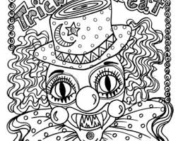 Small Picture View HALLOWEEN COLORING PAGES by ChubbyMermaid on Etsy