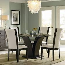 homelegance dandelion round pedestal dining table in distressed taupe com