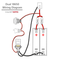 how to build unregulated dual 18650 box mod mosfet findmyvapes wiring everything up here is the simply wiring diagram