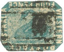 inverted swan stamp 1855