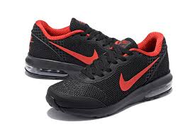 nike shoes 2018. nike air max 2018 kpu black red 827177 405 men\u0027s running shoes trainers