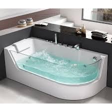 platinum spas verona 1 person whirlpool bath tub in 2 sizes