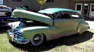 1946 Chevy Fleetline Lowrider Stockton Impala's Ma - YouTube