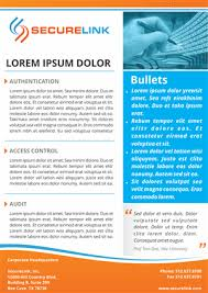 Security Software Company Needs A 1 Page Brochure Design 9