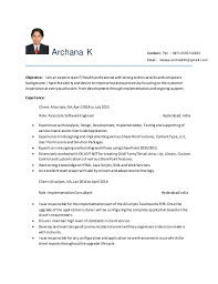 Sharepoint Developer Resume Magnificent SharePoint Developer Resume