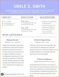 8 College Cv Sample Graphic Resume