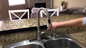 Motionsense Kitchen Faucet Moen Delaney With Motionsense Kitchen Faucet Youtube