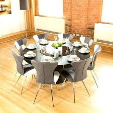 sensational round kitchen table sets with lazy dark brown round dining table for 8 with lazy