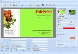 Business Card Maker Convenient Business Card Software