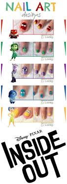 Art Designs Inside Out Movie Nail Art Designs Free Pdfs To Download And