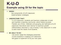 A Toolkit For Using Differentiated Instruction To Reach