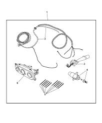 2008 jeep wrangler wiring kit hardtop 1997