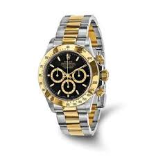 stainless steel rolex men s watches shop the best deals for 2017 certified pre owned mens rolex daytona 18k yellow gold and steel chronograph watch