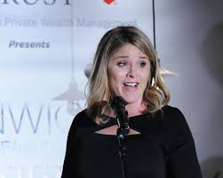 jenna bush spoke during the opening night party for the greenwich international film festival at restoration