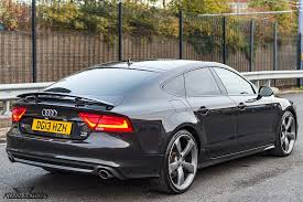 audi a7 blacked out. audi a7 audi blacked out