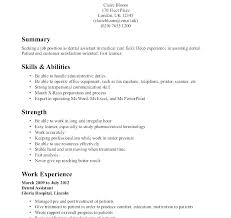 Resume For Dentist Job Best Of Dental Assistant R Stunning Orthodontist Resume Examples Sample