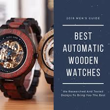 reviews by wooden watch brand