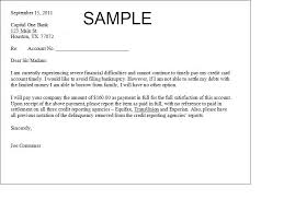 debt settlement letter