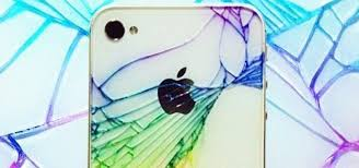 add color to make your broken rear glass panel look less broke