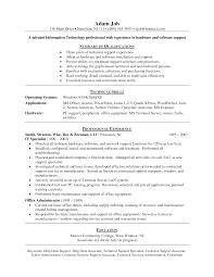 Resume Examples, It Help Desk Resume Examples Resume Writing Tips: Resume