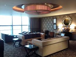 Conrad Macao Club Lounge Sitting Area