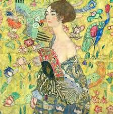 gustav klimt lady with fan gustav klimt klimt art art nouveau ilration