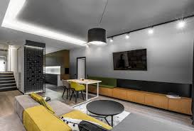 apartment interior designers. Vilnius Apartment Features A Bench Built Into Storage Unit 800x542 Apartments Interior Design Ideas And Pictures Designers U