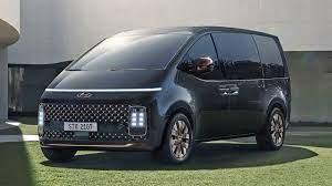 Hyundai Staria: first class space travel