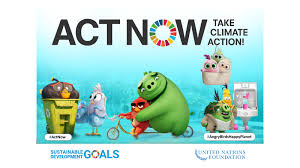 The United Nations and Talent From the Angry Birds Movie 2 Join Forces on  the ActNow Climate Campaign – United Nations Sustainable Development