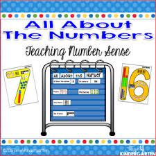 Number Sense Pocket Chart Activities
