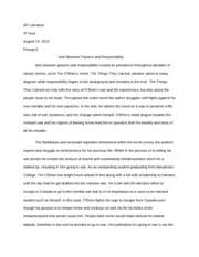 essays written about the things they carried the things they essays written about the things they carried the things they carried essay topics 1 online essays