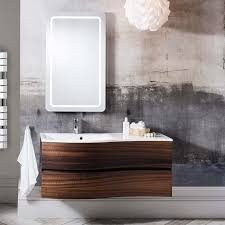 bauhaus svelte 120 wall hung vanity unit with basin