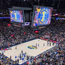 Vivint Smart Home Arena Seating Chart Vivint Smart Home Arena Section 117 Home Of Utah Jazz