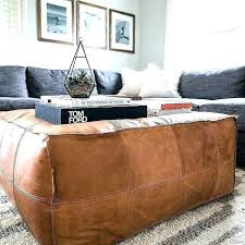cognac ottoman cognac leather ottoman cognac leather ottoman room crush all leather everything the must