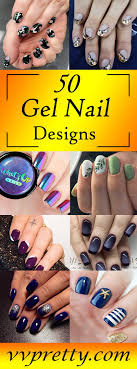 50 remarkable gel nail design ideas